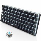 Ajazz Geek AK33 Backlit Usb Wired Gaming Mechanical Keyboard Blue Black Switches