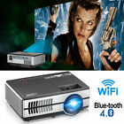 Best Projectors For Home Theaters - Portable Home Theatre Projectors 1080P WiFi Blue-tooth Review