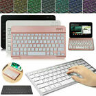 Slim Backlit Wireless Keyboard Universal For Windows Android Ios Ipad Tablet Pc