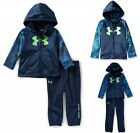NWT UNDER ARMOUR Baby Boy 2 Piece Bedrock Camo Hooded Tracksuit Set SELECT SIZE