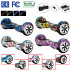 """Hoverboard 6.5"""" Electric Scooters Bluetooth Led 2 Wheels Lights Balance Board"""