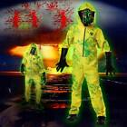 Kids Boy Girl Bad Yellow Hazmat Suit Halloween Costume Party Fancy Dress M L XL