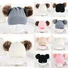 Hot Toddler Kids Girl Boy Baby Infant Winter Crochet Knit Hat Beanie Cap Fashion
