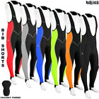Dimex Mens Cycling Bib Tights Long Compression Pants Padded MTB Road Bike Lycra