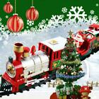 Christmas Electric LED Musical Train & Track Set Toys Home Gift Decor Xmas