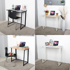 REFURBISHED Neo Foldable Compact Computer Home Office Student Table Wooden Desk