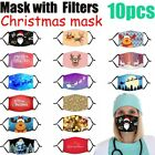1x Face Mask Reusable Washable Unisex Christmas Decorations Merry Christmas Gift