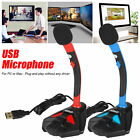 USB Computer Microphone Audio Studio Recording Gaming Mic for PC Desktop Laptop