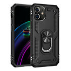 For iPhone 12 Pro Max 11 7 8 XS Max XR X Case Hybrid Shockproof Ring Stand Cover