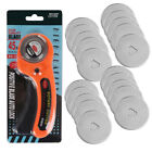 Купить Rotary Cutter With 45mm Blade Sewing Quilters Fabric Leather Cutting Tool Set US