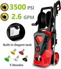 3500PSI 2.6GPM Electric Pressure Washer High Power Cold Water Cleaner B t e 246