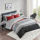 Comfort Spaces Colin 9 Piece Comforter Set All Season Microfiber Bedding Set