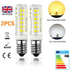 UK 2pcs E14 7W LED Light Bulb Lamp for Kitchen Range Hood Chimmey Fridge Cooker
