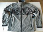 Pelagic Men's Insulator Soft Shell Gray Fishing Jacket Multiple Size NWT