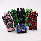 Youth Kids Motorcycle Motocross MX BMX Dirt Bike Racing Sports Gloves