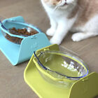 Home Dogs Cat Container Non Slip Portable Feeding Pet Bowl Degree Adjustable