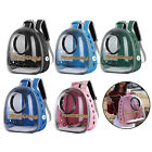 Transparent Bird Travel Cage Breathable Lightweight PVC Birds Backpack Carriers