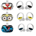 Removable Stickers Cute Skin Protective Cover Film for Oculus Quest 2 VR Glasses