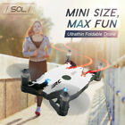 Mini RC Drone With 4K HD Camera WIFI FPV Foldable Quadcopter Altitude UK 2020