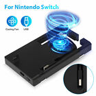 For Nintendo Switch Dock External Turbo Cooling Fan 3000RPM Cooler + USB charger