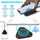 qi wireless fast charger pad phone magnetic charging dock for iphone 12 samsung