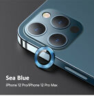 USAMS Metal Lens Ring Suit Camera Glass Protector For iPhone 12 Pro Max / Mini