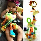 Plush Infant Toys Baby Development Giraffe Animal Handbells Rattles Handle Toys
