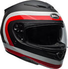 Bell Adult Black/White/Red RS-2 Crave Motorcycle Full Face Helmet DOT ECE