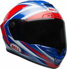 Bell Adult Red/Blue Star MIPS Torsion Motorcycle Full Face Helmet SNELL DOT ECE