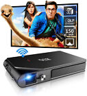 DLP Portable 3D Projector 1080P Home Theater Wifi Mirascreen Airplay Movie US