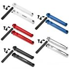 MISSION BMX TRANSIT BICYCLE CRANKS BLACK BLUE PURPLE RED WHITE