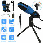 USB Condenser Computer Microphone Recording Audio Mic+Tripod Stand for Game Chat