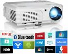 Android LED Projector Home Theater Party Movie Blue-tooth HDMI USB Airplay Zoom