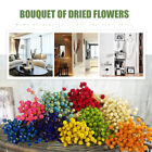 50x Natural Dried Flowers Flower Bouquet Wedding Party Floral Art Home Decor Au