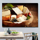Gourmet Cheese Platter Kitchen Dining and Cafe Decor Canvas Art Print
