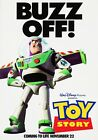 TOY STORY Classic 90's Vintage Movie Poster Wall Film Art Print - Buzz Lightyear