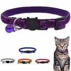 Cute Safety Personalized Breakaway Cat Collar With Bell For Cat Kitten Decor