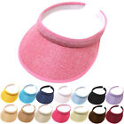 Sun Visor Adjustable Sports Tennis Golf Headband Cap Unisex Mens Womens Hat Cap