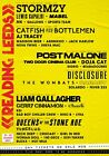 READING & LEEDS FESTIVAL 2021 Line Up Posters PHOTO Print POSTER Prints Wall Art