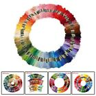 Embroidery Thread Skein Smooth 50-200Colors Cotton Cross Stitch Useful