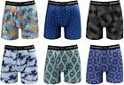 Warriors & Scholars | Mens Boxer Briefs 6 Set Multi Pack | Men's No Ride Up Unde