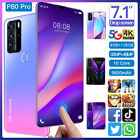 7.1'' P80 Pro Smart Phone 5g-lte Android 10.1 8g+128gb 10 Core Dual Sim Unlocked