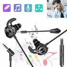In-Ear Wired Super Bass Gaming Earphone Headphone Noise Cancelling for PS4 XBOX