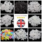 Frosted Acrylic Lucite Flower Beads / Petals / Leaves Jewellery Beading Craft Uk