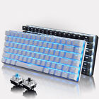 Ajazz Mechanical Keyboard 82 Keys Blue/black Switches Wired For Games Work