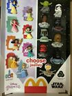 2021 McDONALD'S Disney's Princess or Star Wars HAPPY MEAL TOYS Or Set