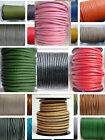 Leather Cord Round 1, 1.5, 2, 3, 4, 5, 6, 8 Mm 100% Real String Lace Jewellery.