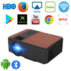Portable Mini WiFi Projector 1080P LED Android 6.0 Full HD Blue-tooth YouTube US