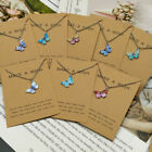 Butterfly Necklace Pendant Clavicle Chain Sweet Women Girls Fashion Jewelry Gift