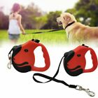Durable Retractable Dog Leads Nylon Lead Extending Puppy Walking Running Leashs'